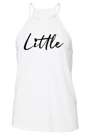 Big Little Hearts Tank - Bella Flowy High Neck, Ladies, Sunny and Southern, - Sunny and Southern,