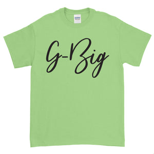 Big Little Handwriting Shirt - Gildan Short Sleeve, Ladies, Sunny and Southern, - Sunny and Southern,