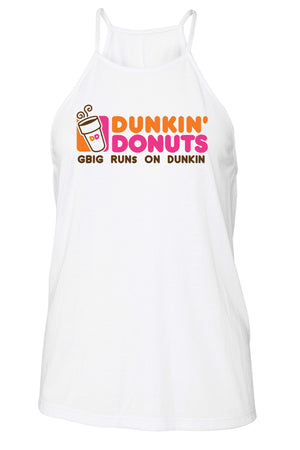 Big Little Runs on Dunkin Tank - Bella Flowy High Neck, Ladies, Sunny and Southern, - Sunny and Southern,