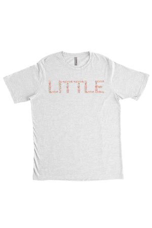 Big Little Floral Letters Shirt - Next Level Unisex Short Sleeve, Ladies, Sunny and Southern, - Sunny and Southern,