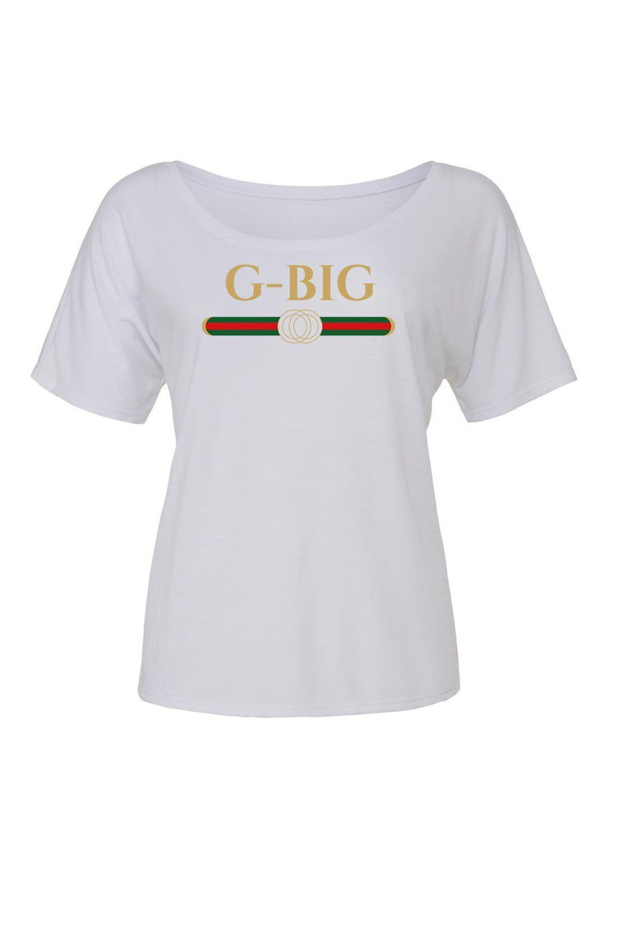 Big Little Designer Shirt - Bella Slouchy V-Neck Short Sleeve, Ladies, Sunny and Southern, - Sunny and Southern,