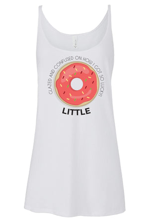 Big Little Donut Tank - Bella Slouchy, Ladies, Sunny and Southern, - Sunny and Southern,