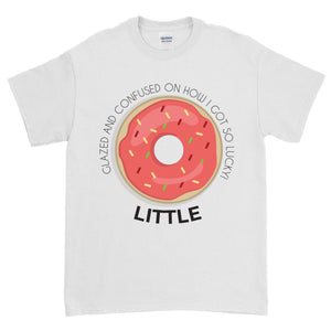 Big Little Donut Shirt - Gildan Short Sleeve, Ladies, Sunny and Southern, - Sunny and Southern,