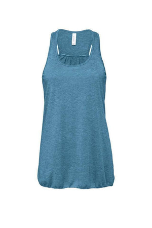 Bella Canvas Flowy Racerback Tank B8800, Material, Blank, - Sunny and Southern,