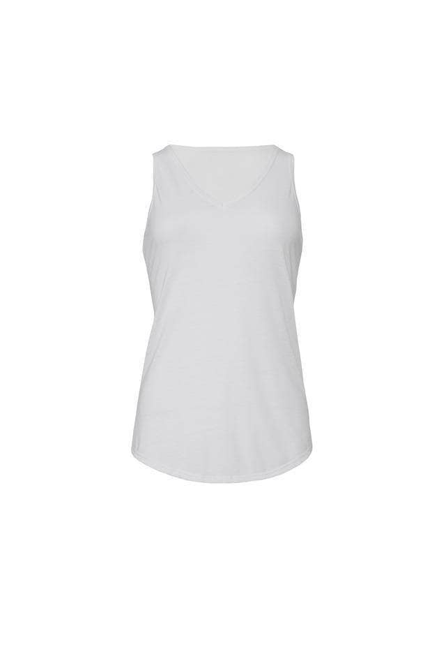 Greek Heart Est. Date Tank - Bella Flowy V-Neck