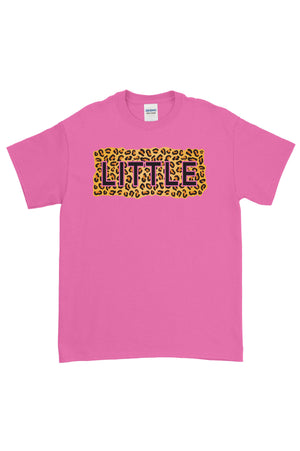 Big Little Cheetah Sisters Gildan Short Sleeve Tee