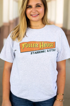 Full House Big Little Gildan Short Sleeve, Ladies, Sunny and Southern, - Sunny and Southern,