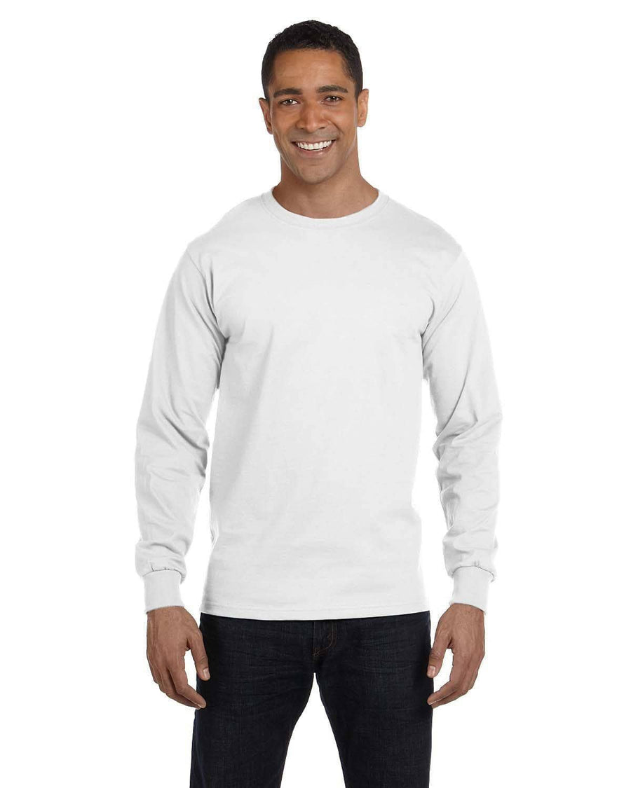 Greek Heart Est. Date Shirt - Gildan Long Sleeve
