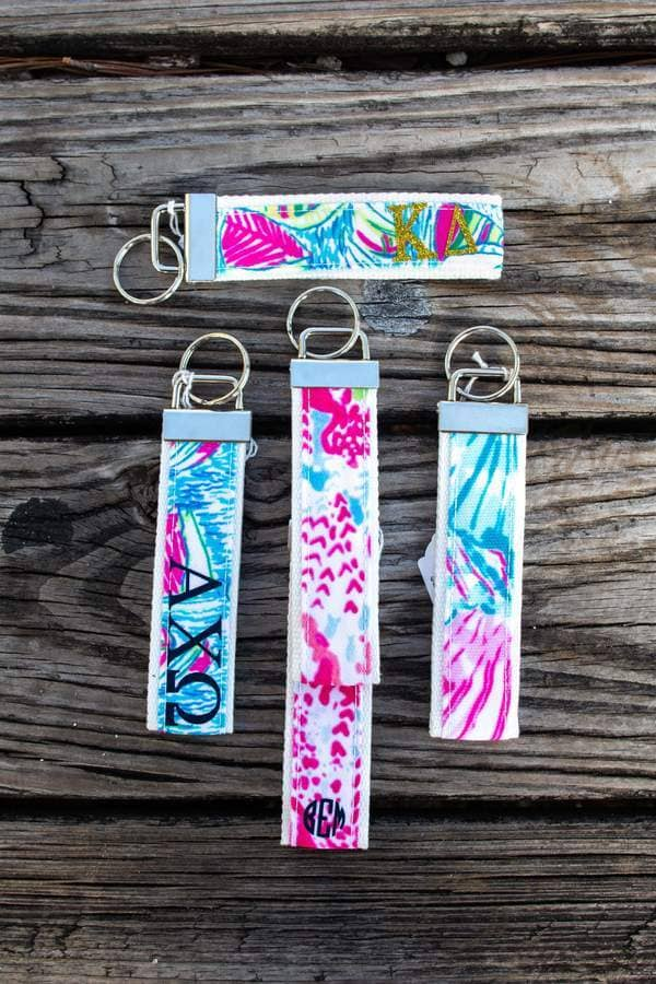 Greek Letters Designer Inspired Key Chain