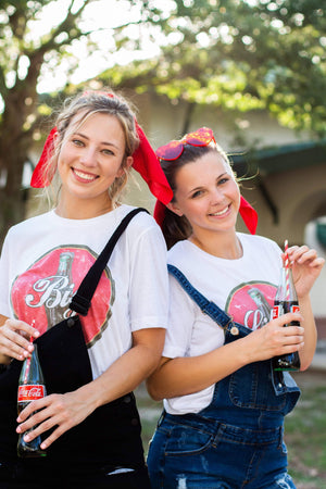 Retro Coke, Refreshing, Share a Coke with your new little, Vintage, Big Little Shirts and Tanks, Cute Big Little Shirts and Tanks, Trendy Big Little Shirts and Tanks