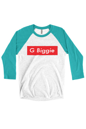 Big Little Supreme Shirt - Next Level Unisex Triblend 3/4-Sleeve Raglan