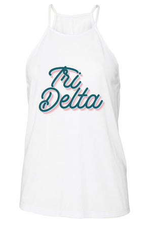 Retro Air Stream Tank - Bella Flowy High Neck