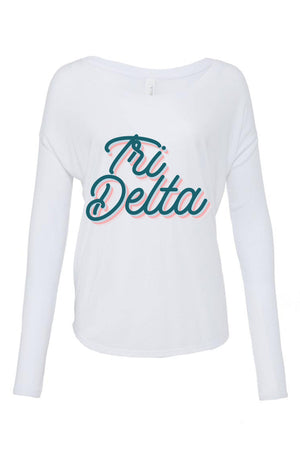 Retro Air Stream Shirt - Bella Flowy Long Sleeve