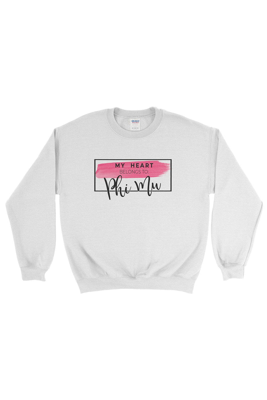 My Heart Belongs to Sweatshirt- Gildan Crewneck