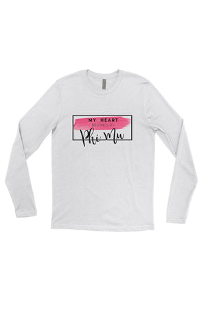 My Heart Belongs to Shirt - Next Level Long Sleeve