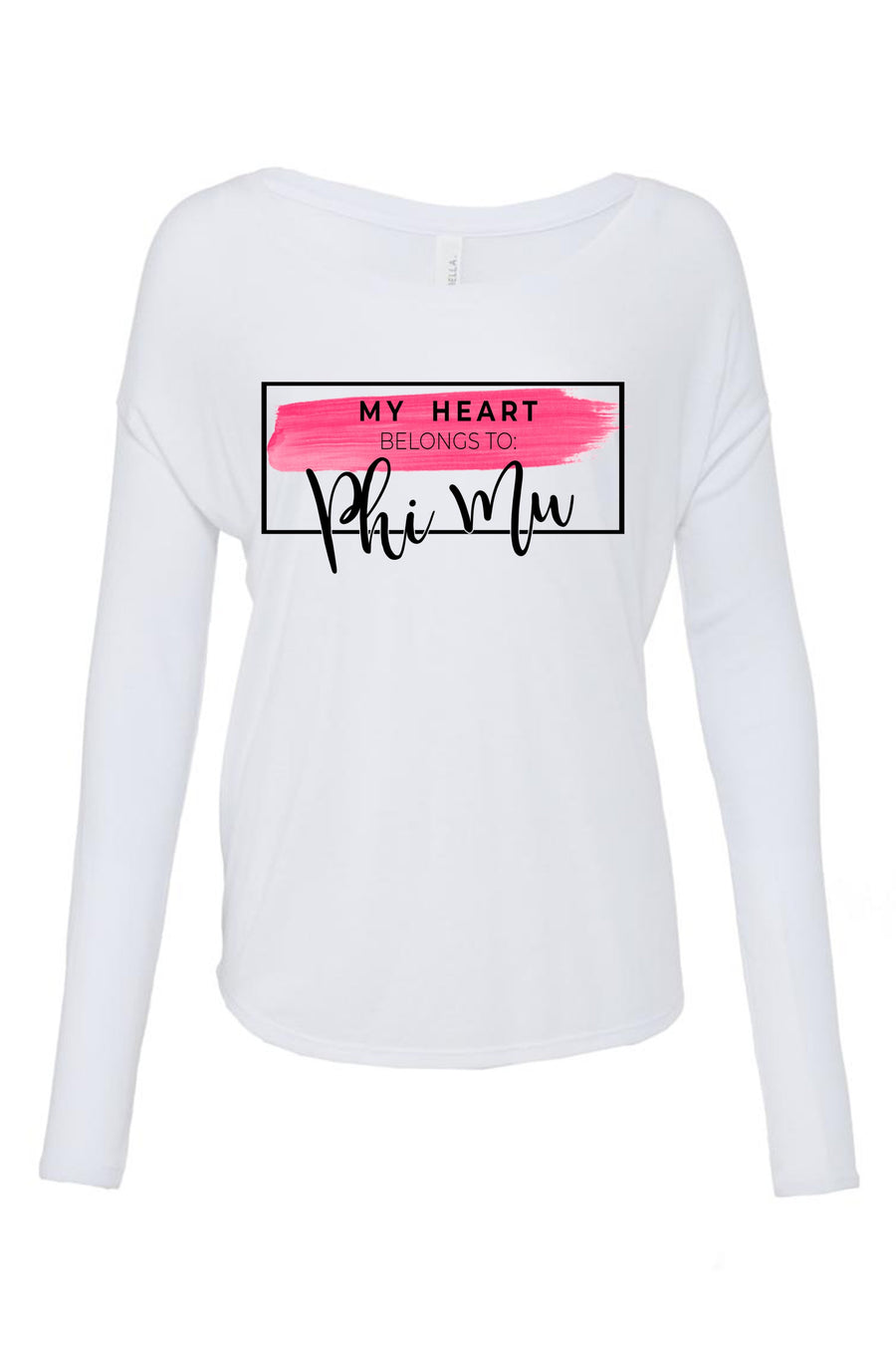 My Heart Belongs to Shirt - Bella Flowy Long Sleeve