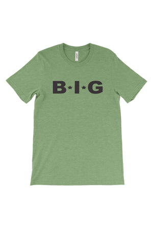 Big Little Star Font Bella Canvas Short Sleeve Unisex Tee, Ladies, Sunny and Southern, - Sunny and Southern,
