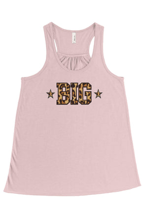 Into the Wild - Cheetah Print Big Little Bella Canvas Flowy Racerback Tank, Ladies, Sunny and Southern, - Sunny and Southern,