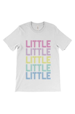 Disco Rainbow Big Little Bella Canvas Short Sleeve Unisex Tee, Ladies, Sunny and Southern, - Sunny and Southern,
