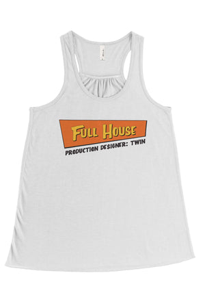 Full House Big Little Bella Canvas Flowy Racerback Tank, Ladies, Sunny and Southern, - Sunny and Southern,