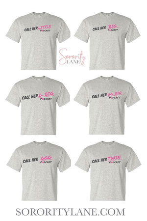 Call Her Daddy Big Little Gildan Short Sleeve Tee
