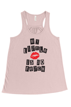 So Fetch Mean Girls Big Little Flowy Racerback Tank