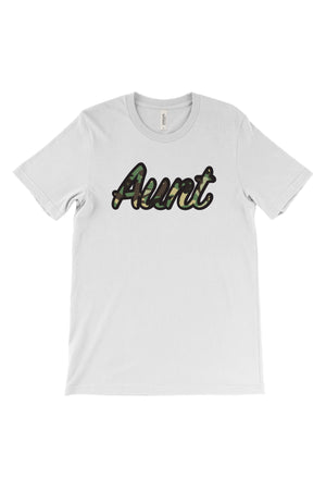 Big Little Camo Script Bella Canvas Short Sleeve Unisex Tee
