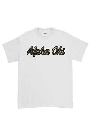 Greek Camo Gildan Short Sleeve Tee
