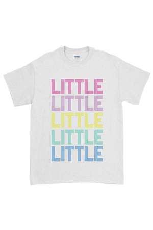 Disco Rainbow Big Little Gildan Short Sleeve Tee, Ladies, Sunny and Southern, - Sunny and Southern,