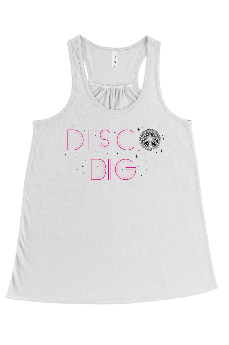 Disco Big - Disco Little Big Little Bella Canvas Flowy Racerback Tank
