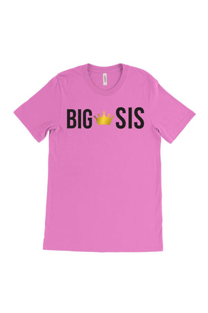 Big Little Custom Object 'Lil and Big Bella Canvas Short Sleeve Unisex Tee