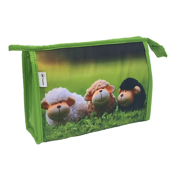 Holdall Bag - Green Sheep