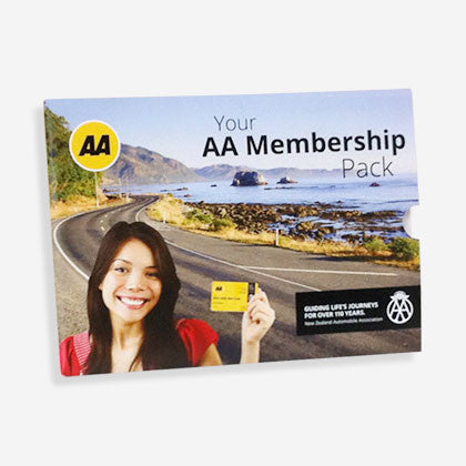 AA Membership Gift Pack outside Auckland