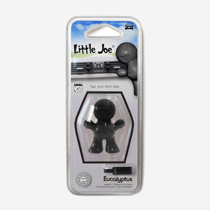 little joe air freshener eucalyptus a great smelling 3d character