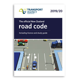 The official New Zealand Road Code 2019/20  including license and study guide from Waka Kotaki NZ Transport Agency