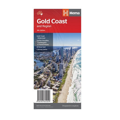 Gold Coast & Region Map