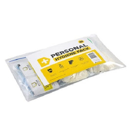 AA Small Hygiene Pack includes disposable face masks and gloves, hand sanitiser and wipes.