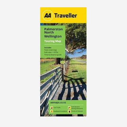 Palmerston North-Wellington Touring Map