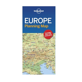 Europe Lonely Planet map