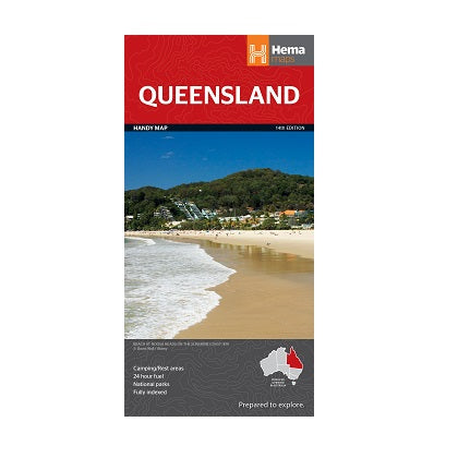 Queensland Handy Map