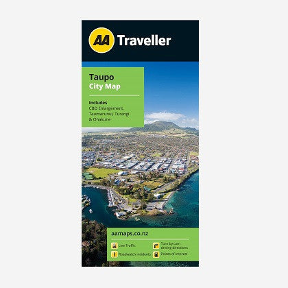 Taupo City Map