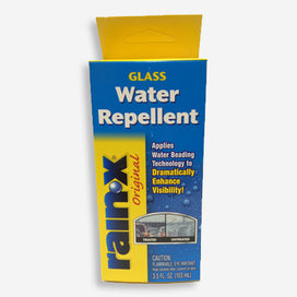 Rain-X Original Glass Water Repellent. Applies water beading technology to dramatically enhance visibility!