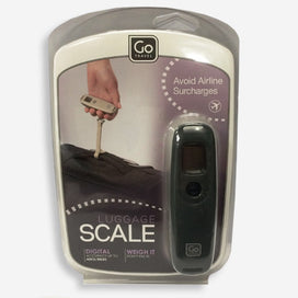 GO Travel Digital Luggage Scale. Black colour electronic scales accurate up to 40kg. Avoid airline surcharges.