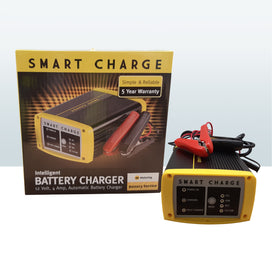 Smart Charge Car Battery Charger