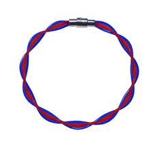 Blue & Red Twist Stringlet NEW!