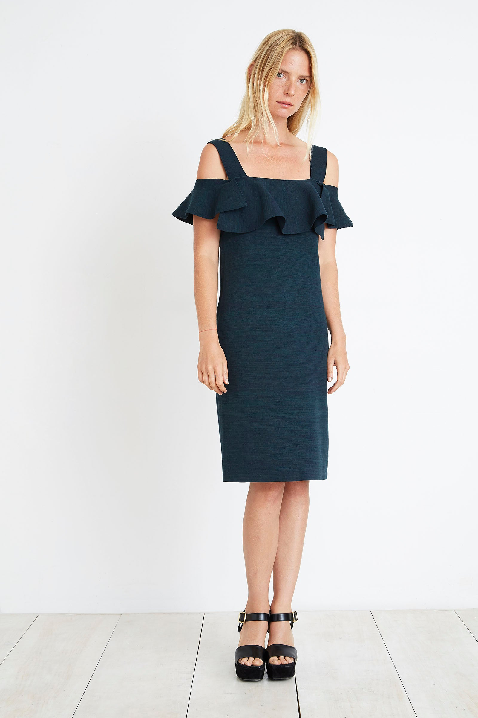 Apiece Apart Lira Off Shoulder Dress