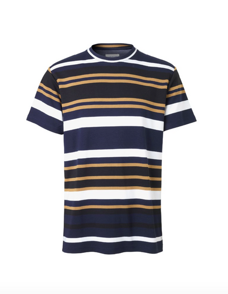 Libertine Libertine Action Stripe Tee Cresp Multi Stripe Night