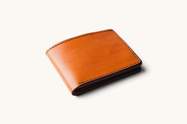 Tanner Goods Bifold Wallet Saddle Tan