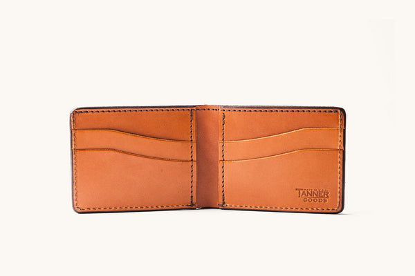 Tanner Goods Bifold Wallet Saddle Tan 2