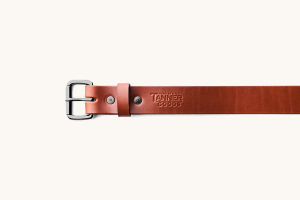 Tanner Goods Belt Cognac 2